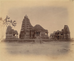 General view of Gondeshvara Temple, Sinnar